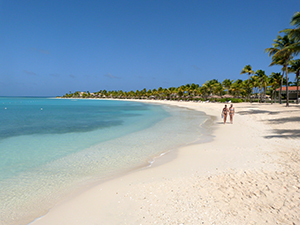 Beaches, and walks on the beaches, abound on the many islands throughout the Caribbean.