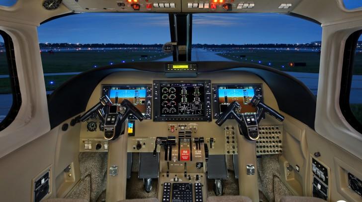 Twin Commander Cockpit