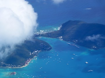 British West Indies offer spectacular cruising because of their many protected anchorages and beautiful islands.