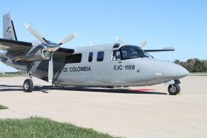 The Colombian Army's third Grand Renaissance Commander refurbishment by Eagle Creek Aviation Services