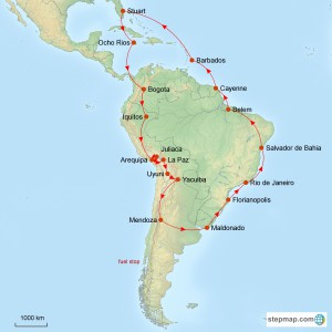 stepmap-karte-explore-south-america-1410386