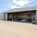 Legacy Hangar open