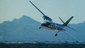 Hoover flying Shrike