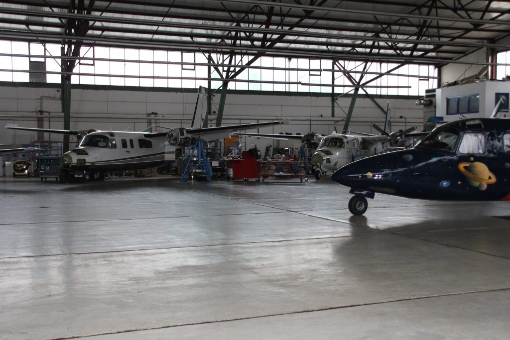 AIRplus hangar