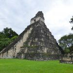Famous Tikal Mayan ruins