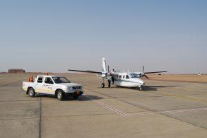 Heron Airlines Twin Commander in Saudi Arabia