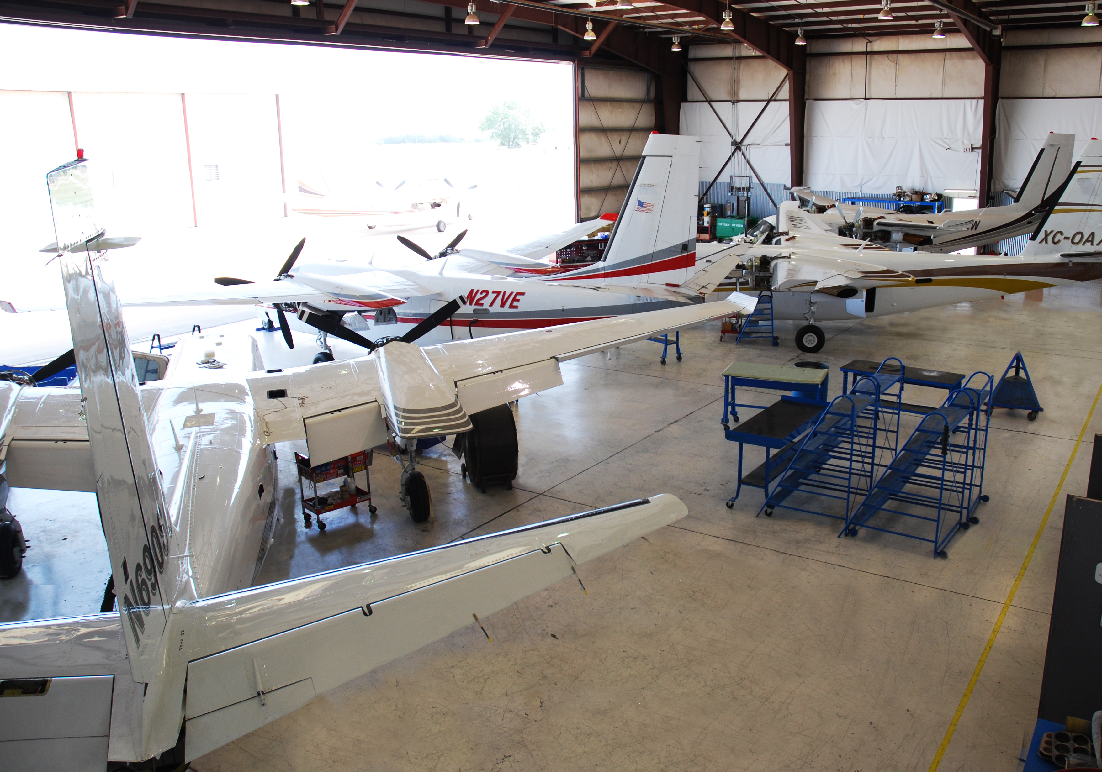 Legacy Aviation Shop Floor
