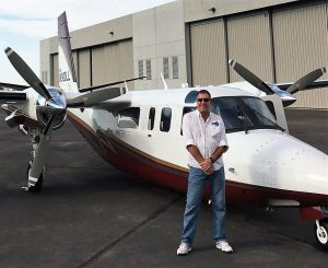 : EAM long-time manager of maintenance and a familiar face in the Twin Commander community, Rob Louviaux.
