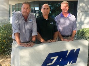 L-R Rob Louviaux, Bill Forbes and Jeff Coffman