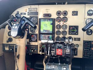 Statewide's new Garmin 750 and 650 and ADS-B-compliant transponders.