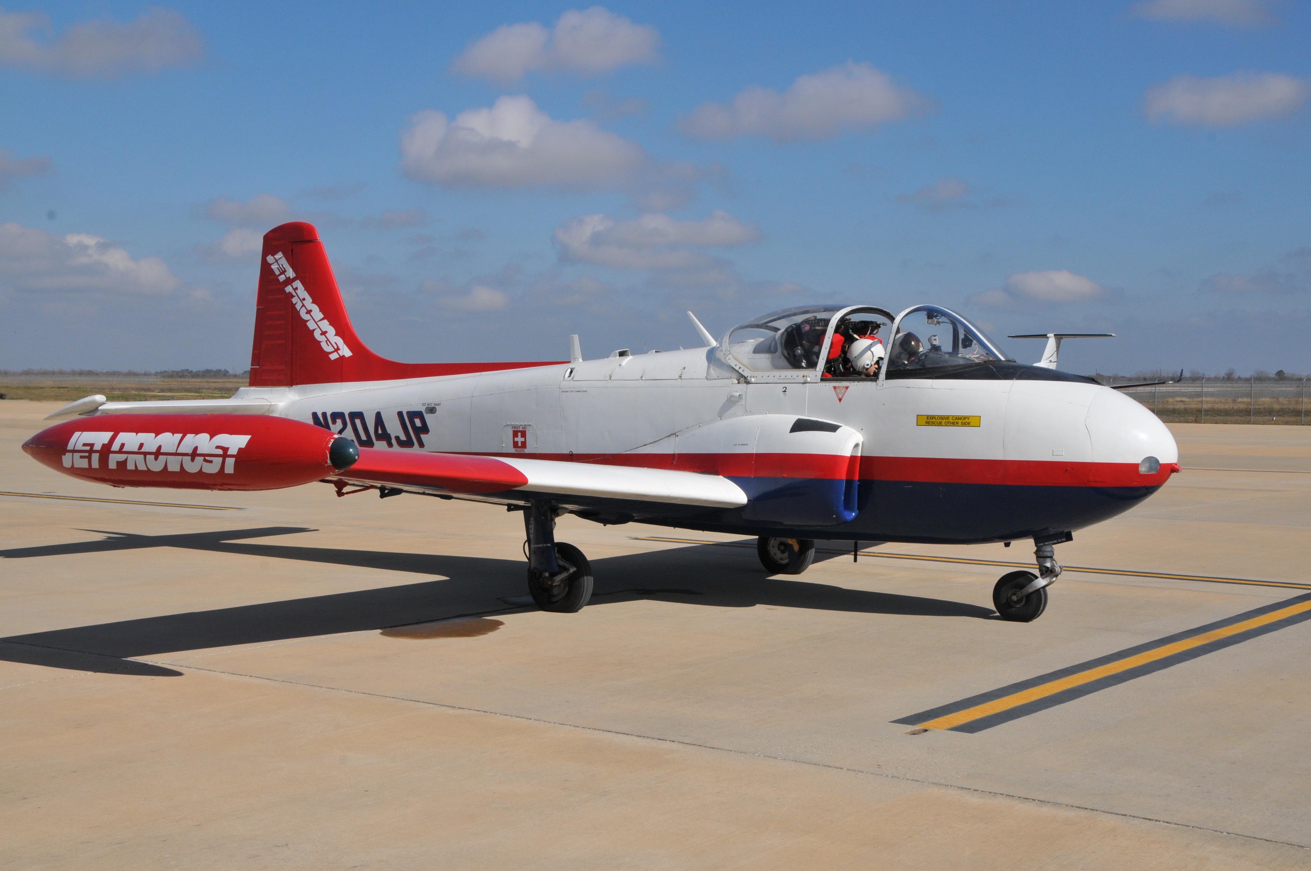 Jean-Luc's Jet Ptrovost